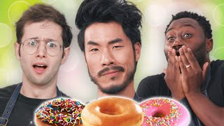 The Try Guys Make Donuts Without A Recipe