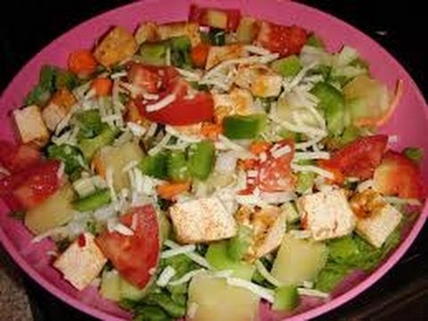 Pineapple salad - HEALTHY FOOD - DIABETIC FOOD - How To QUICKRECIPES