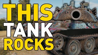 This Tank ROCKS in World of Tanks!