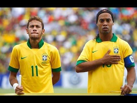 Neymar Vs Ronaldinho 2012 RONALDINHO VS NEYMAR !...