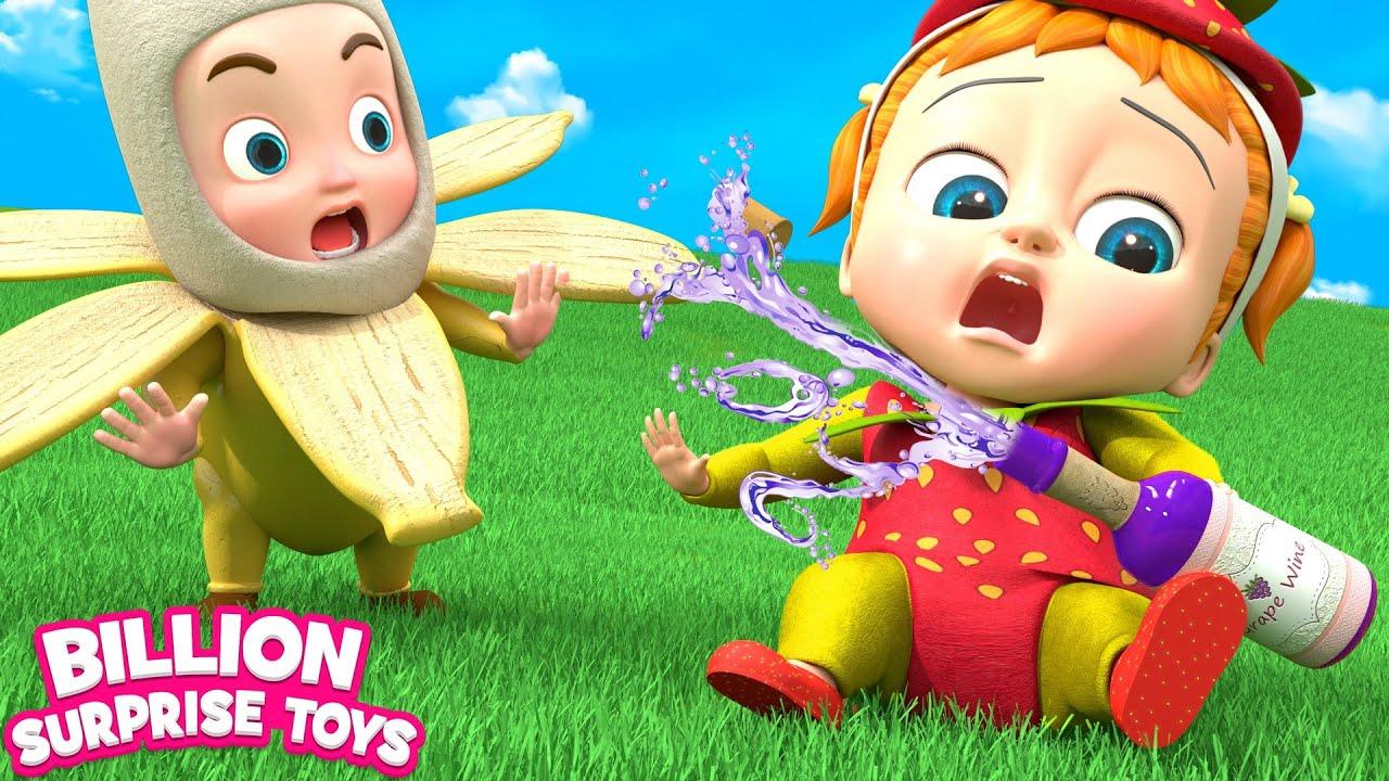 أنا القليل من الفراولة | أغاني للأطفال | BillionSurpriseToys Arabic