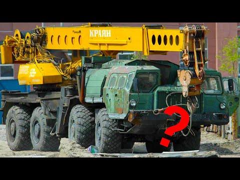 Как завод МАЗ опозорил свой легендарный тягач неудачным краном?