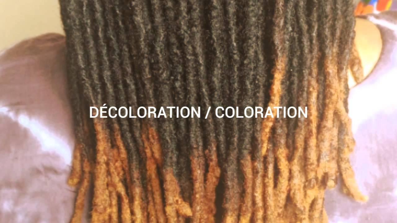 locks decoloration coloration palm rolling vanille coiffure - Coloration Sans Dcoloration