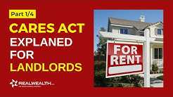 CARES Act Explained for Landlords & Other Business Owners [Part 1/4]