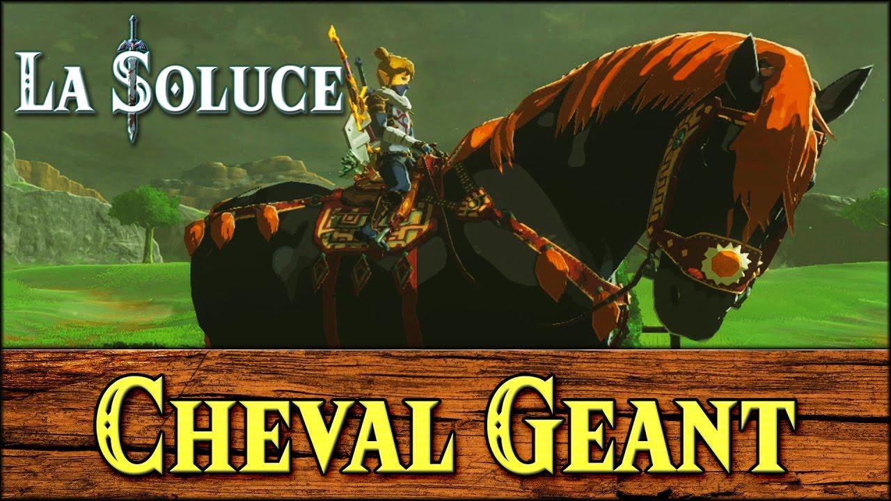 CHEVAL GEANT - GANON HORSE - ZELDA BOTW | Doovi