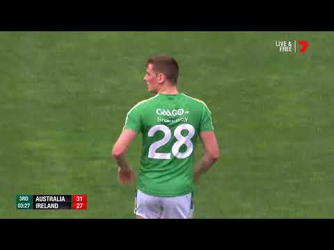 Australia v Ireland IRS Game One Highlights