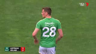 Australia v Ireland IRS Game One Highlights