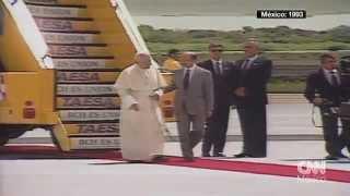 Así fueron las visitas de Juan Pablo II a México