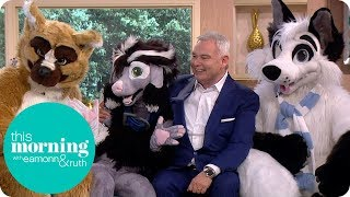 A Pack of Furries Introduces Eamonn to the Fandom | This Morning