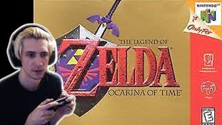 xQc Plays The Legend of Zelda: Ocarina of Time