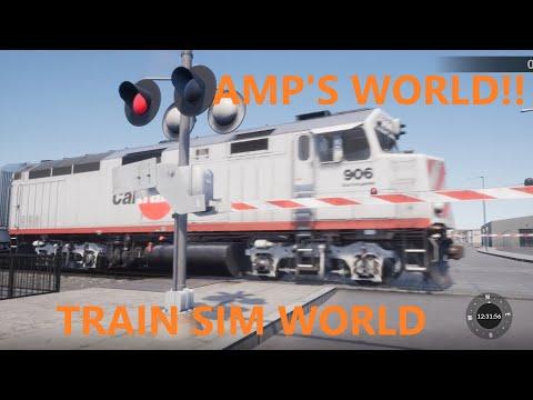 Cal Train! Train Sim World Gameplay! |
