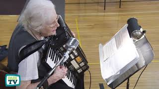 Country Music Accordion by Mary Mileski at LenoxCC 10-3-201818 -- ParkTV15
