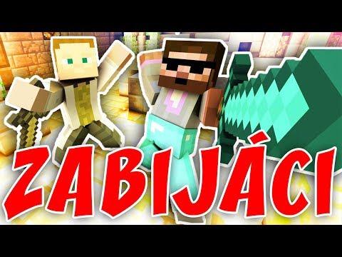 VRAŽDÍCÍ INNOCENT | Minecraft Minihry | Pedro a Gejmr