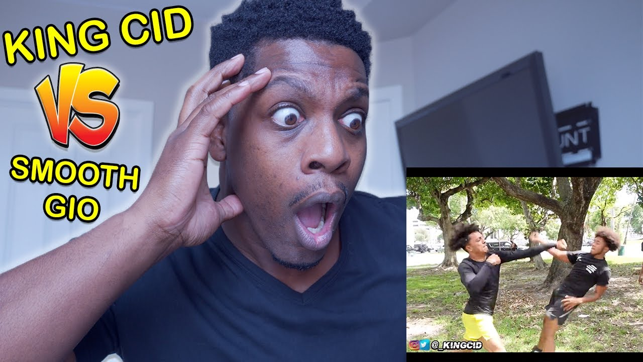 KING CID VS SMOOTH GIO! **I Pulled Up** REACTION