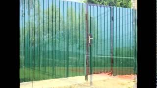 видео Заборные секции