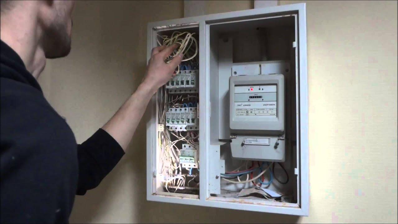 Хороший Электрик - Ошибки монтажа офисного щитка - YouTube 876e503654469