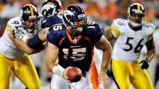 Tebow's OT Magic | Steelers vs. Broncos Mic'd Up AFC Wild Card Game (2011) | NFL Films | Sound FX