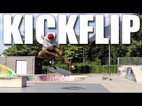 HOW TO PERFECT KICKFLIPS