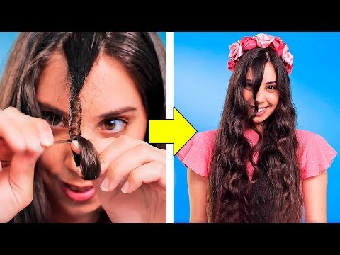 30 HAIRSTYLING HACKS EVERY GIRL SHOULD KNOW thumbnail