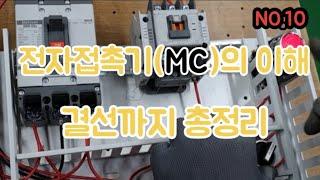 전자접촉기(MC)의 이해 결선 응용까지 전기실무 MC종…