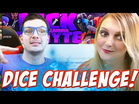 Clash of Clans DICE CHALLENGE RETURNS! Nickatnyte vs KellyP Clash of Clans Attacks!