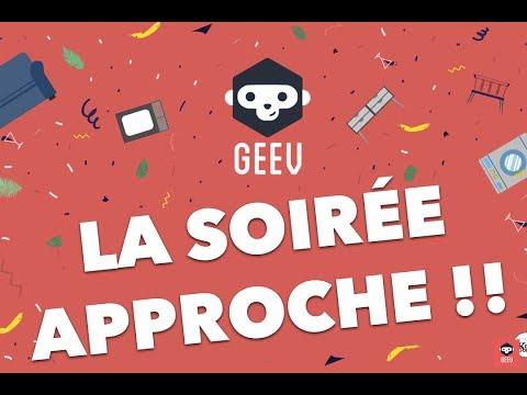 Soirée GEEV le 6 avril à Paris - Le programme