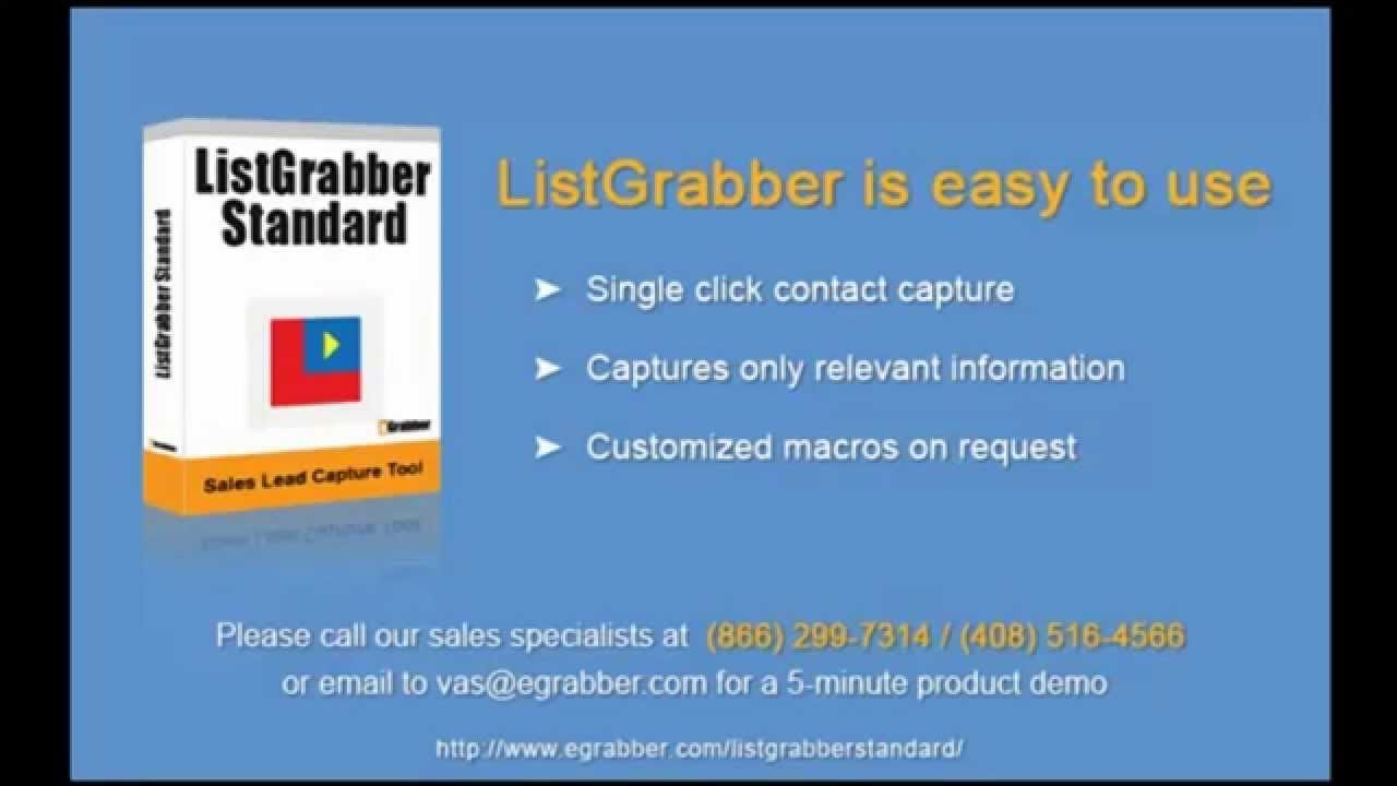 Extract Business Leads, Contact List | Data Extractor