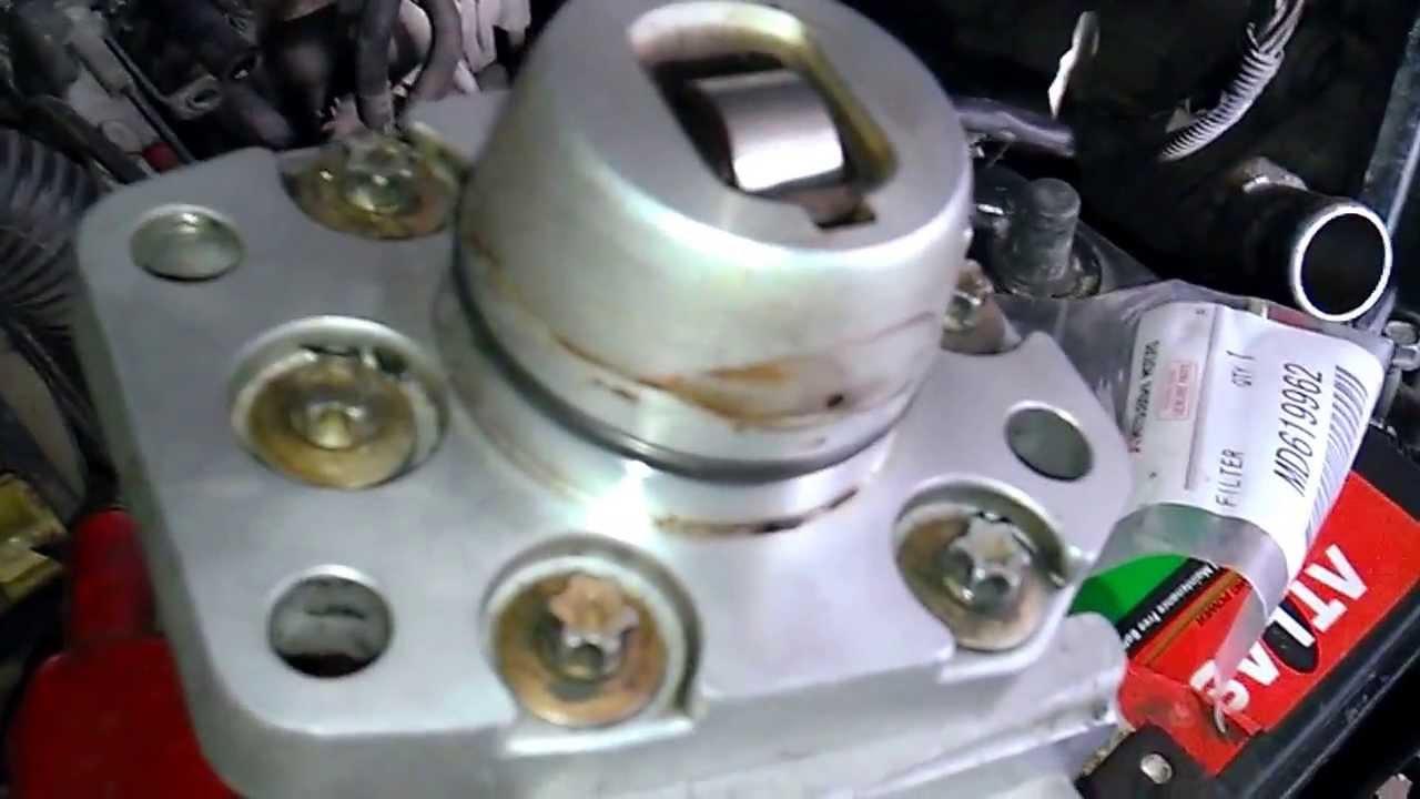 Mitsubishi Pajero Io тнвд топливный насос высокого