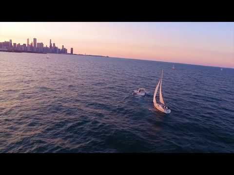 Chicago Sailboat And Yacht Charters Sunset & Fireworks Video