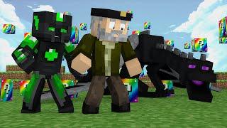 Minecraft: EL MATA-DRAGONES!! c  sTaXx   RAINBOW Lucky Blocks Epic Race
