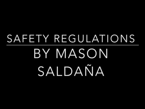 "Student Entry #2 into ASSE Region 2 Film Festival: ""Safety Regulations"""