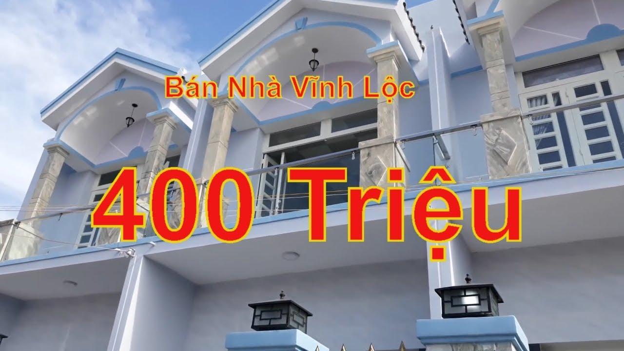 Bán Nhà Vĩnh Lộc I Nhà Vĩnh Lộc 400 Triệu I Sổ Hồng Riêng