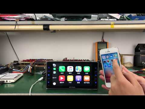 "Joying 6.2"" Single Din Car Radio Android 8.0 Oreo System support iOS 12 Carplay"