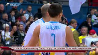 Баскетбол. Отбор на ЧМ-2019. Украина проиграла Турции 60:67