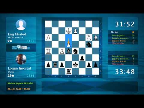 Chess Game Analysis: Eng khaled - Logan Imortal : 0-1 (By ChessFriends.com)