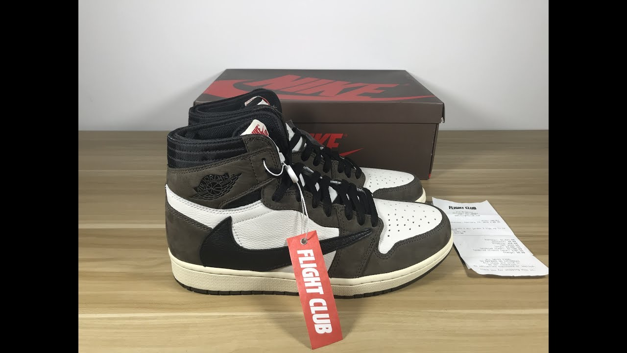 new styles 294da 95207 Jordan 1 Retro High Travis Scott AUTHENTIC REVIEW