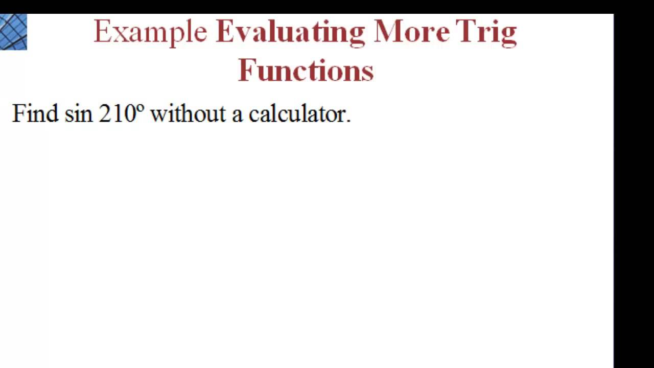module 5 circular functions trigonometry Algebra ii module 1, topic a, lesson 5  understanding trigonometric functions and putting them to use  exponential and logarithmic functions and their graphs.