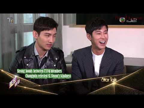 [Eng Sub-TVXQ! Express] 170902 TVXQ! J2 StarTalk Hong Kong Interview [Trans by @joeylfy]