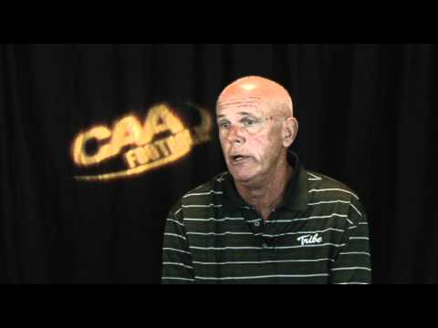 William and Mary Head Coach Jimmye Laycock - 2011 CAA Football Media Satellite Uplink Interviews