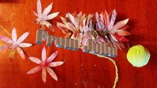 видео Как сделать гавайские бусы?