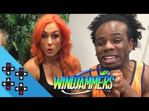 WindJammers Release Day!!!! (w/ BECKY LYNCH, RENEE YOUNG & RICH SWANN!)— UpUpDownDown Streams