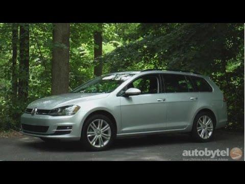 2015 volkswagen golf sportwagen tdi test drive video. Black Bedroom Furniture Sets. Home Design Ideas