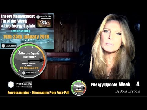 19th - 25th January 2018 Energy Update & Energy Tips For Empaths (Week 4): DISENGAGING