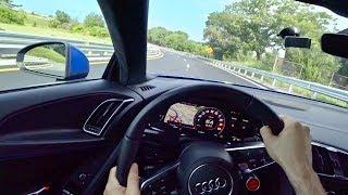 2018 Audi R8 - Tedward POV Test Drive (Binaural Audio)