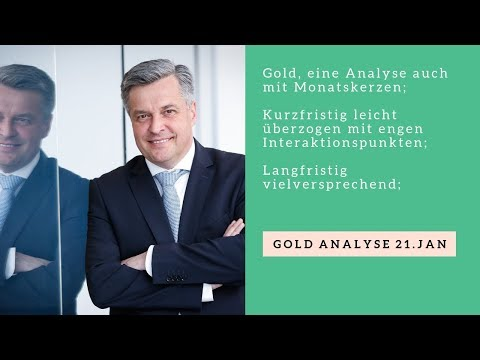 Gold Analyse 21 Januar
