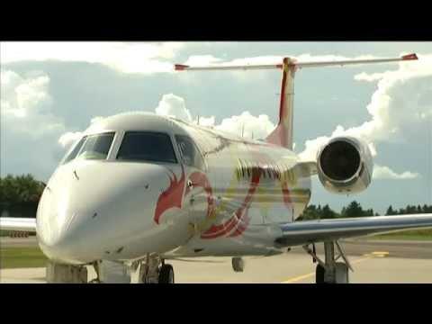 Jackie Chan's Jet in Denmark