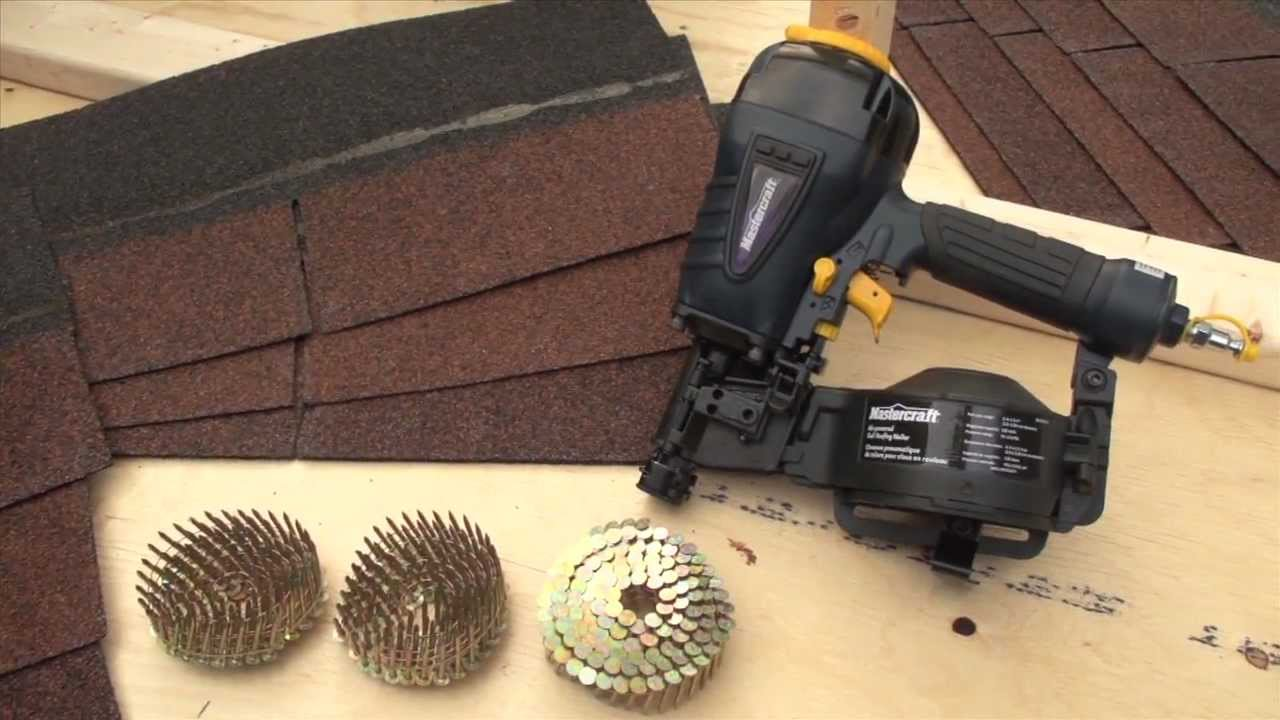 Roofing Air Nailers User Guide From Canadian Tire   YouTube