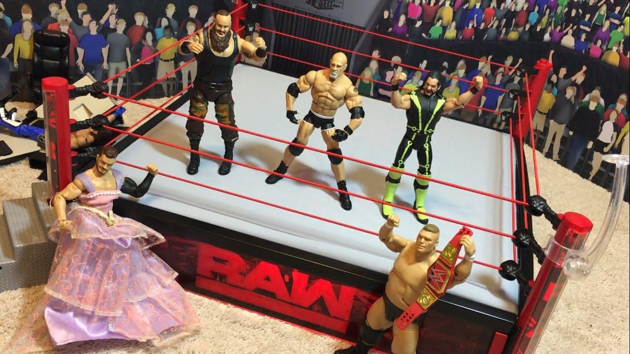 Raw Elite Scale Wrestling Ring W