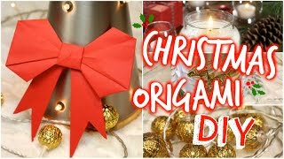 DIY : Christmas Origami 🎀 │PerfectHonesty Thumbnail