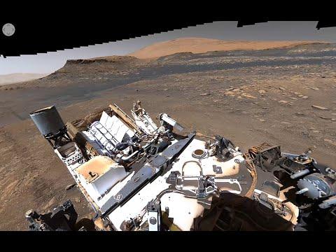 Curiosity Mars Rover's 1.8 Billion-Pixel Pano (360 View)